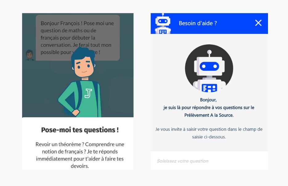 chatbot CNED Jules Cegid design UX personnalité
