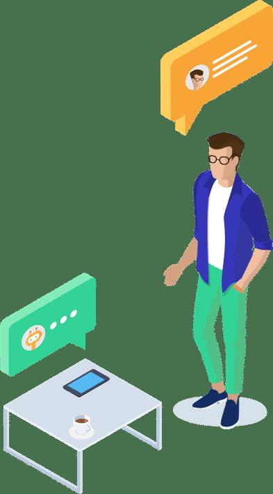 voicebot vocal assistant voix enceinte connectée