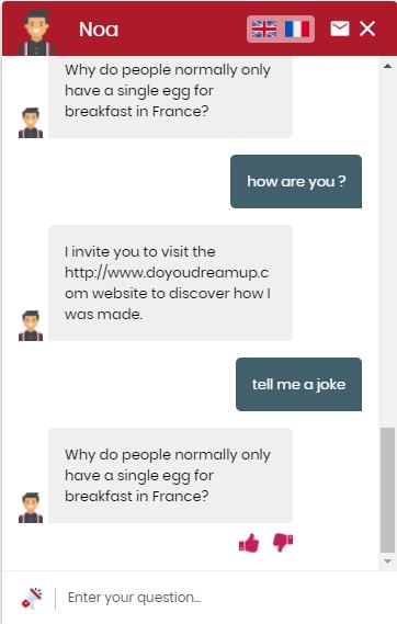joke nlp chatbot dydu
