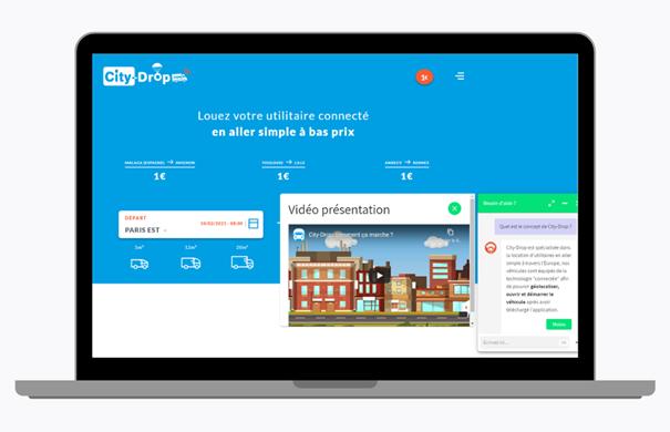 chatbot, customer relationship, city-drop, innovation, conversational software, customer